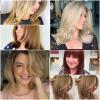 Прически на етажи за средна коса