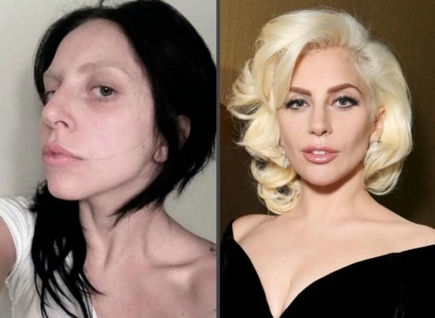 Лейди Гага без грим