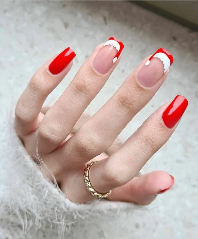 Модерни нокти зима