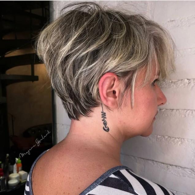 Модни прически за къса коса 2021