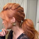 Прически за дълга коса с плитки