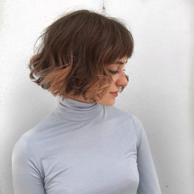френска прическа гъста коса