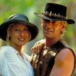 """6. Линда Козловски и Пол Хоуган (Сю Чарлтън и Майкъл Дънди, """"Дънди Крокодила"""")"""