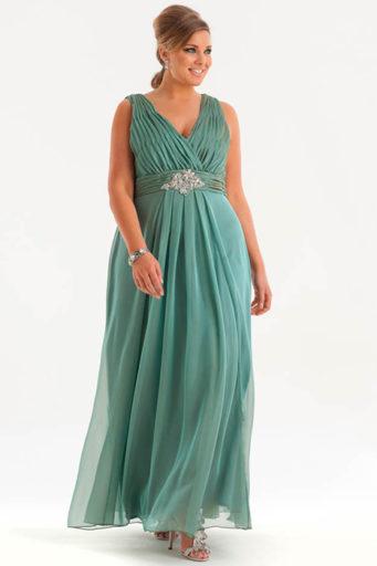 дълга рокля в гръцки стил