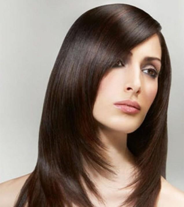 тълга прическа тънка коса