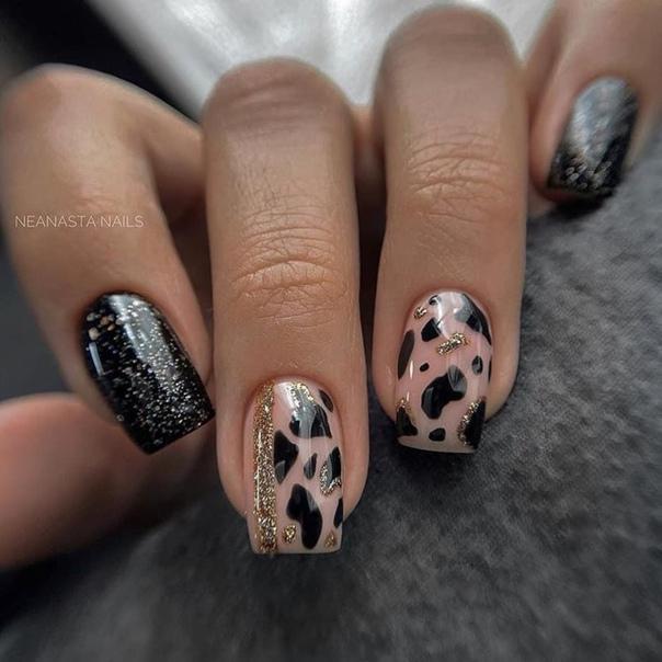 леопардов маникюр