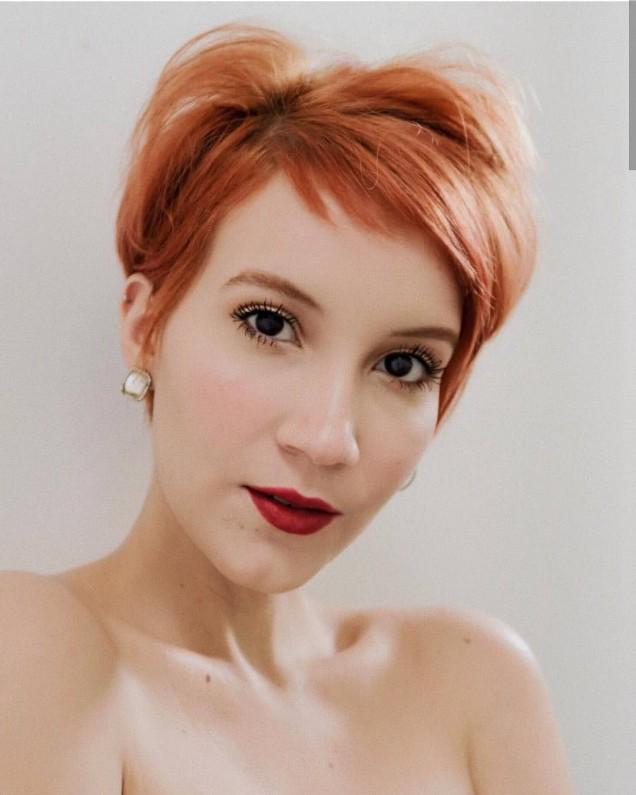 меден цвят коса
