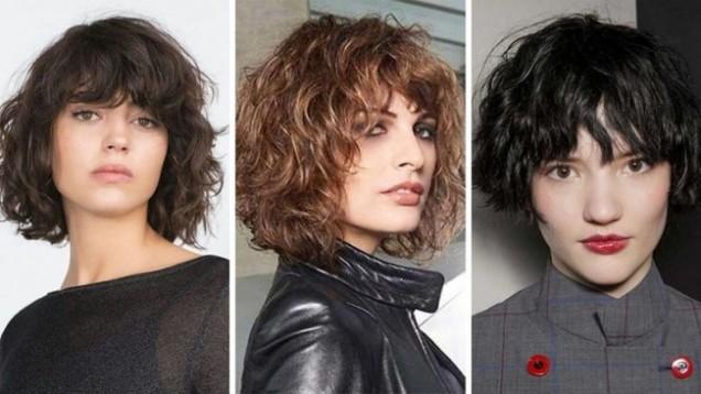 френски боб къдрава коса