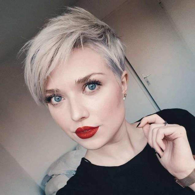 пикси на рядка коса
