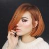 Боя за коса меден цвят