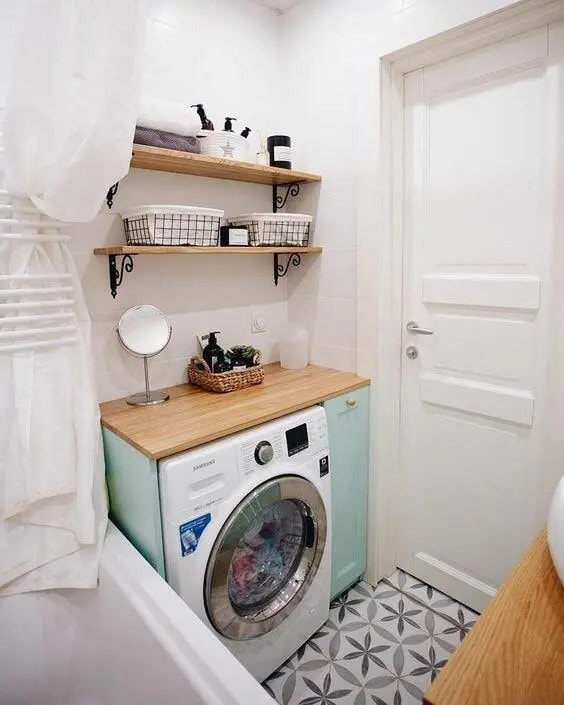 пералня под мивката