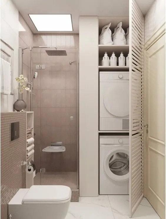 пералня в малка баня