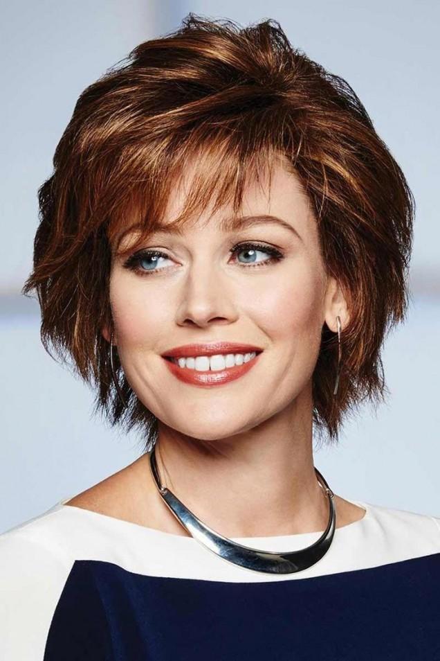 Прически за къса коса за жени над 50