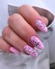пролетен розов маникюр
