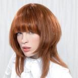 асиметрична прическа гъста коса