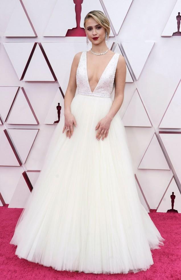 Мария Бакалова рокля Оскари