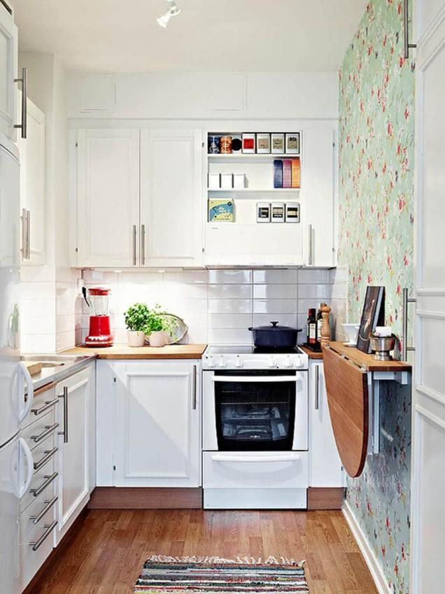 малка кухня обзавеждане