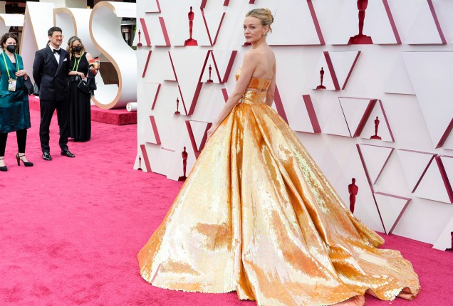 Кери Мълиган рокля Оскари
