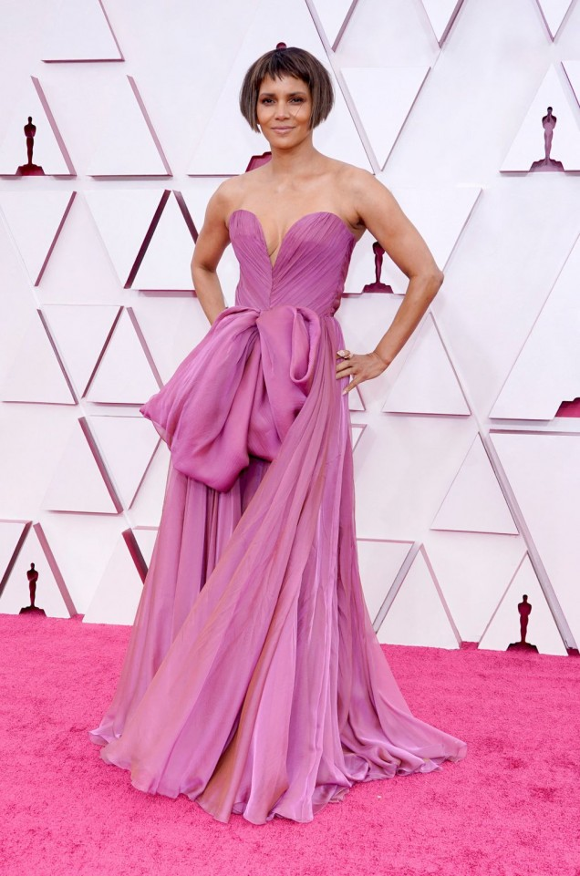 Хали Бери рокля Оскари