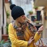 Жълто топло палто