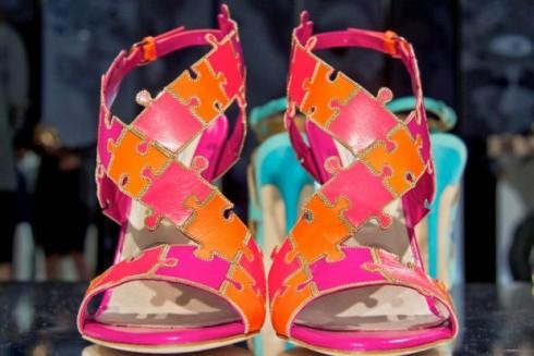 Обувки цветен пъзел
