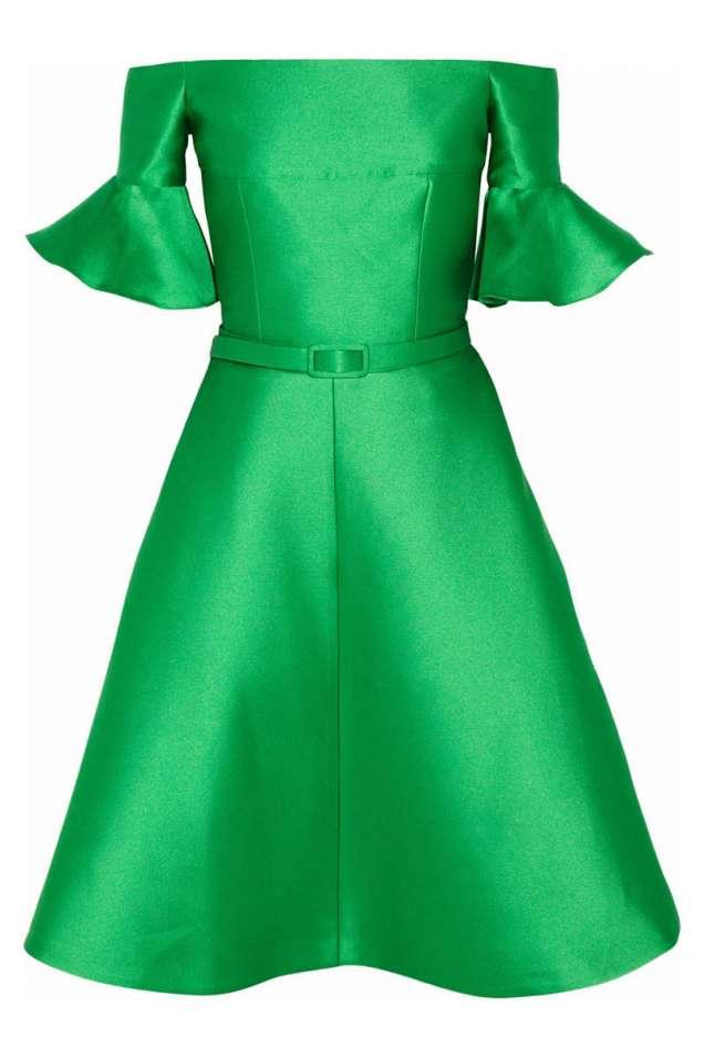 Красива рокля в зелено 2014