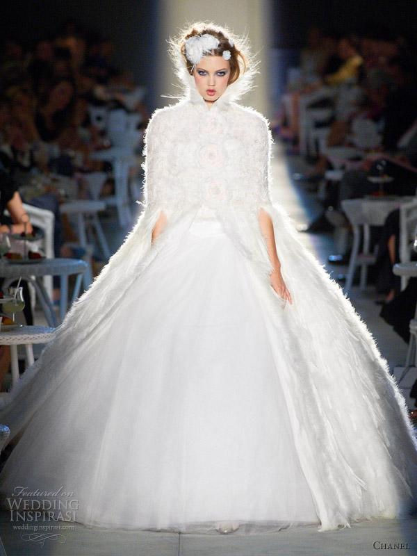 Сватбена рокля Chanel