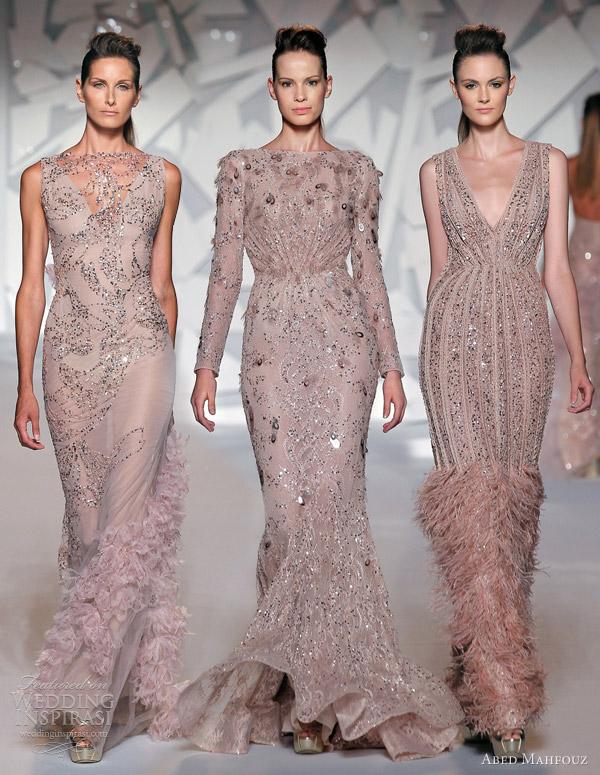 Аbed Mahfouz рокли в розово