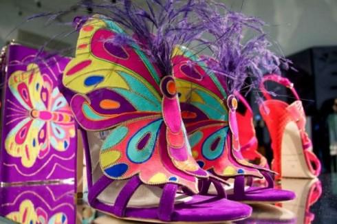 Обувки като пеперуда