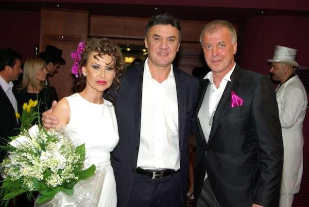 Боби Михайлов с Наско Сираков и Илиана Раева