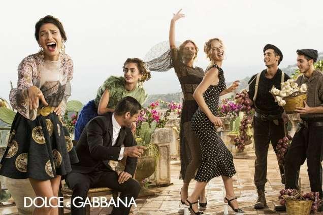 Рекламна кампания пролет/лято 2014 на Dolce Gabbana