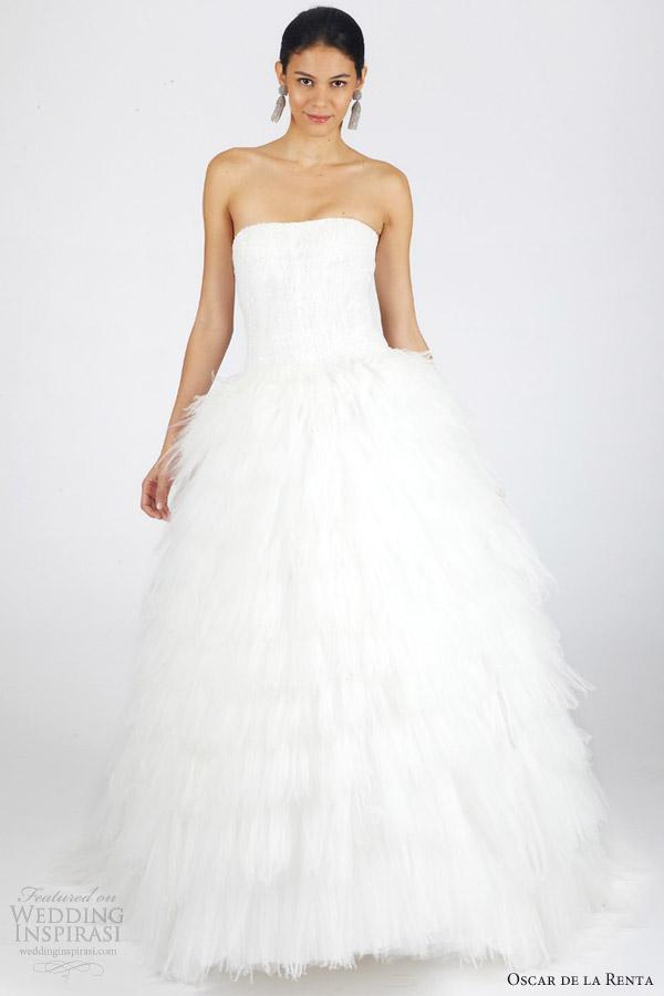 Сватбена рокля на Oscar de la Renta