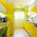 лимонено жълта кухня
