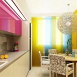 кухня в ярки цветове