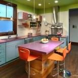кухня в ярки нюанси