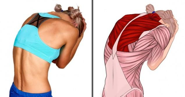 разтягане на врат