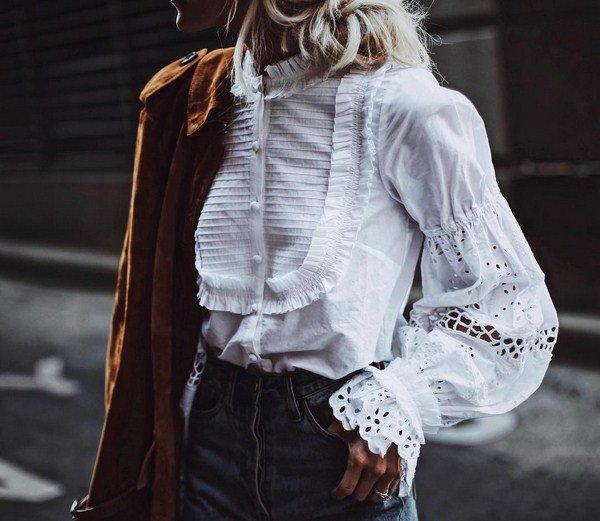 дънки с красива риза
