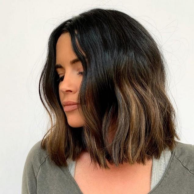 право каре гъста коса