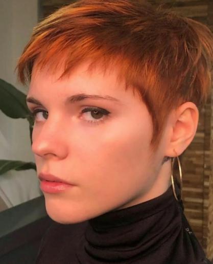 женска прическа къса коса