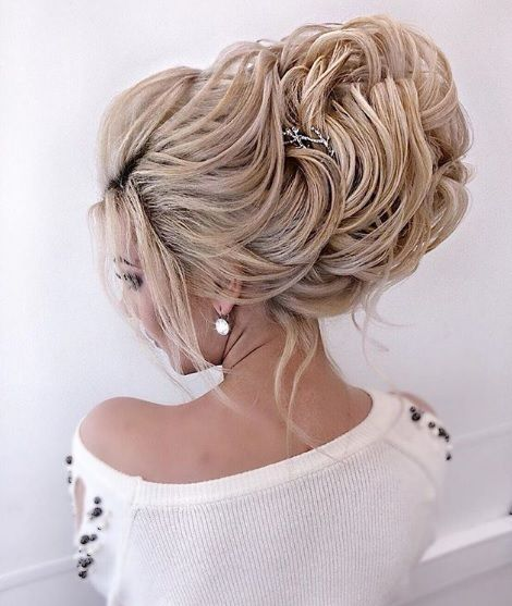 рус коса прическа