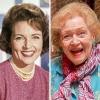 Бети Уайт преди и сега