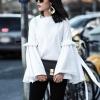 блуза с оригинални ръкави