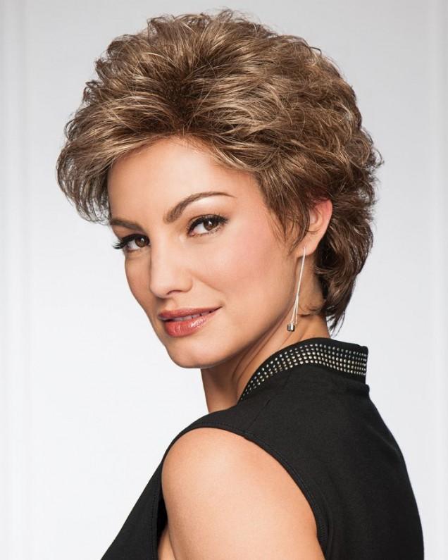 прическа Италианка на къса коса
