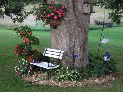 пейка под дървото