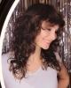 Къса прическа за чуплива коса