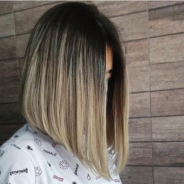 Кичури балеаж на руса коса