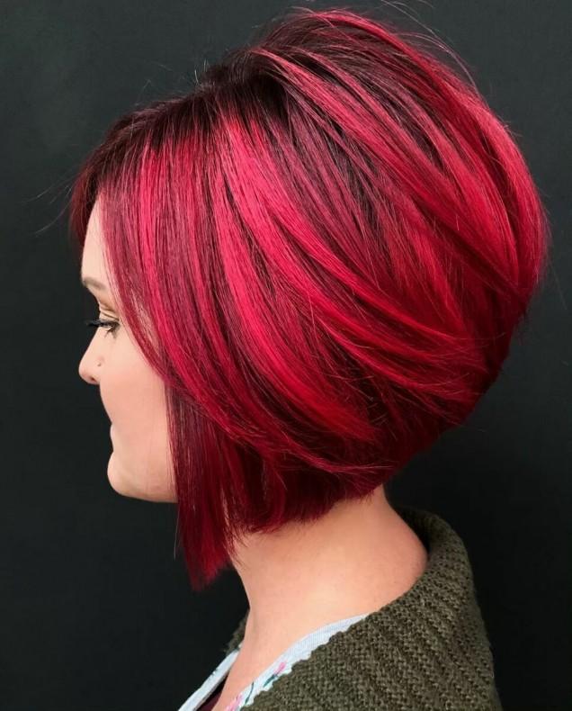 обемен боб червена коса
