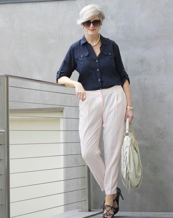мода жени над 50-те