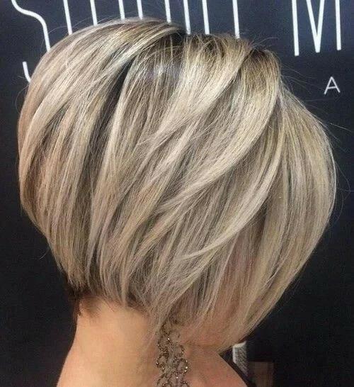 градуирано каре тънка коса