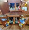 подредба кухненски шкаф